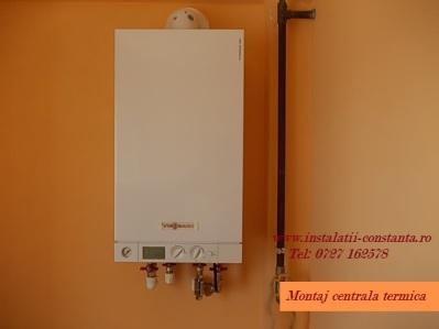 Montaj centrala termica 24 Kw