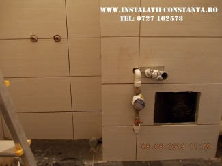 Instalatie sanitara baie