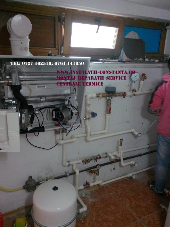 montaj centrala condensare