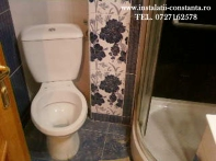 Montaj vas wc/rezervor