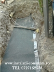 Instalator reparatii scurgere subsol
