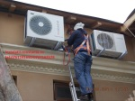 Montaj servici igenizare aer conditionat